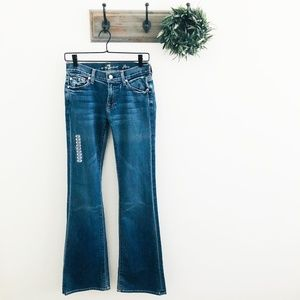 NWT 7 For All Mankind Flare Jeans 27
